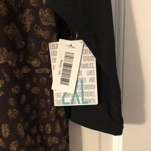 LuLaRoe Tops - 2x Animal print Randy. NWT